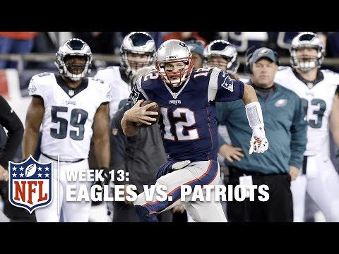 Tom Brady Catches a Pass from Amendola?! | Eagles vs. Patriots | NFL