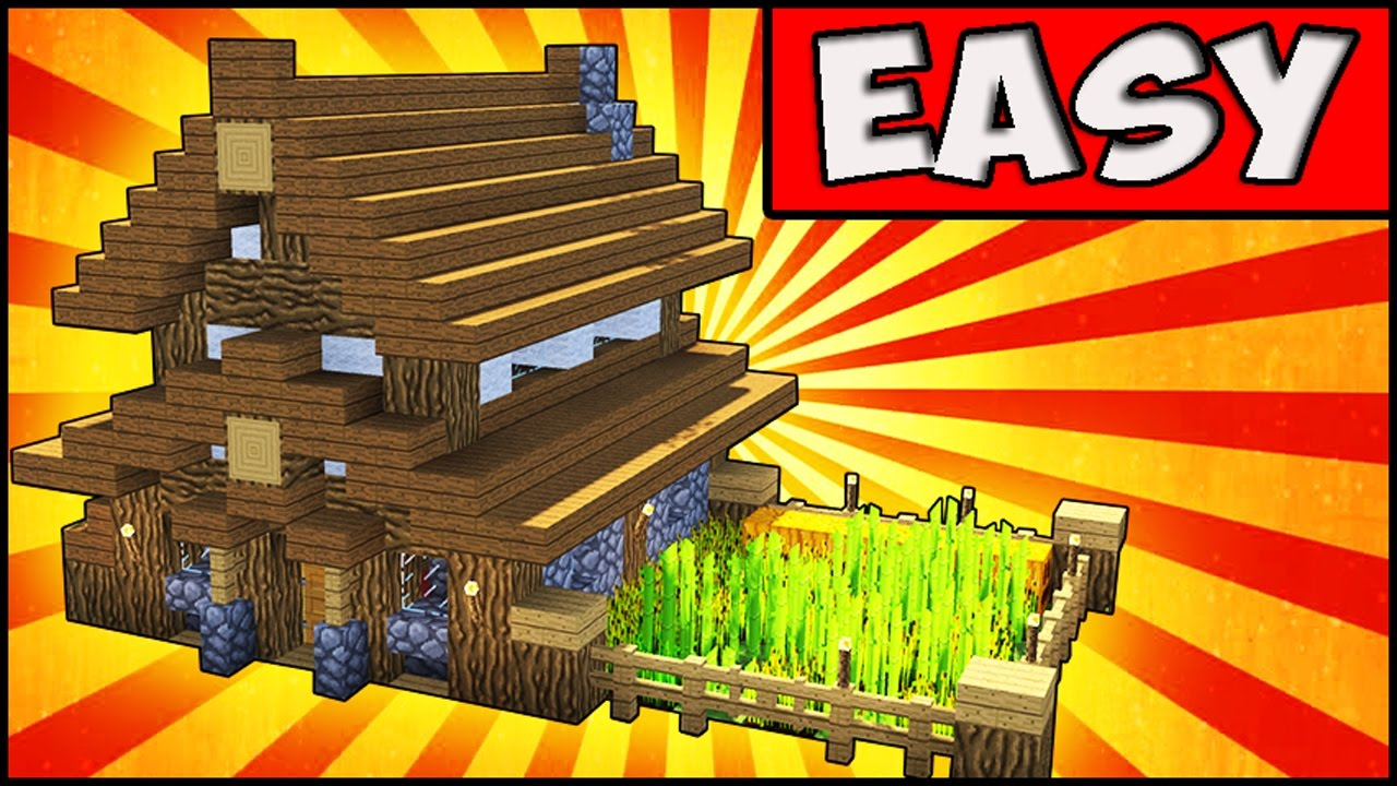 Simple, Compact and Cute Survival House - Minecraft ...