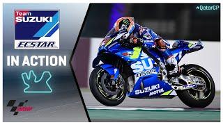 Suzuki in action: VisitQatar Grand Prix