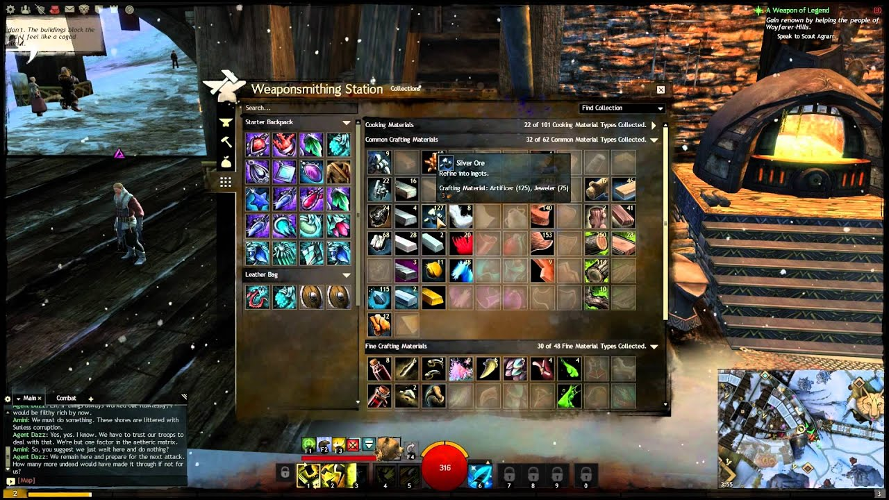 Guild Wars 2 Crafting 101 Crafting Guide Hintstips Youtube