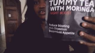 Nigerian girl reviews the Rita Dominic and flavour endorsed flat tummy tea