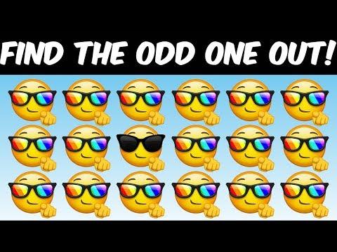 Brain Games for Kids - Emoji Powered Visual Puzzles #1