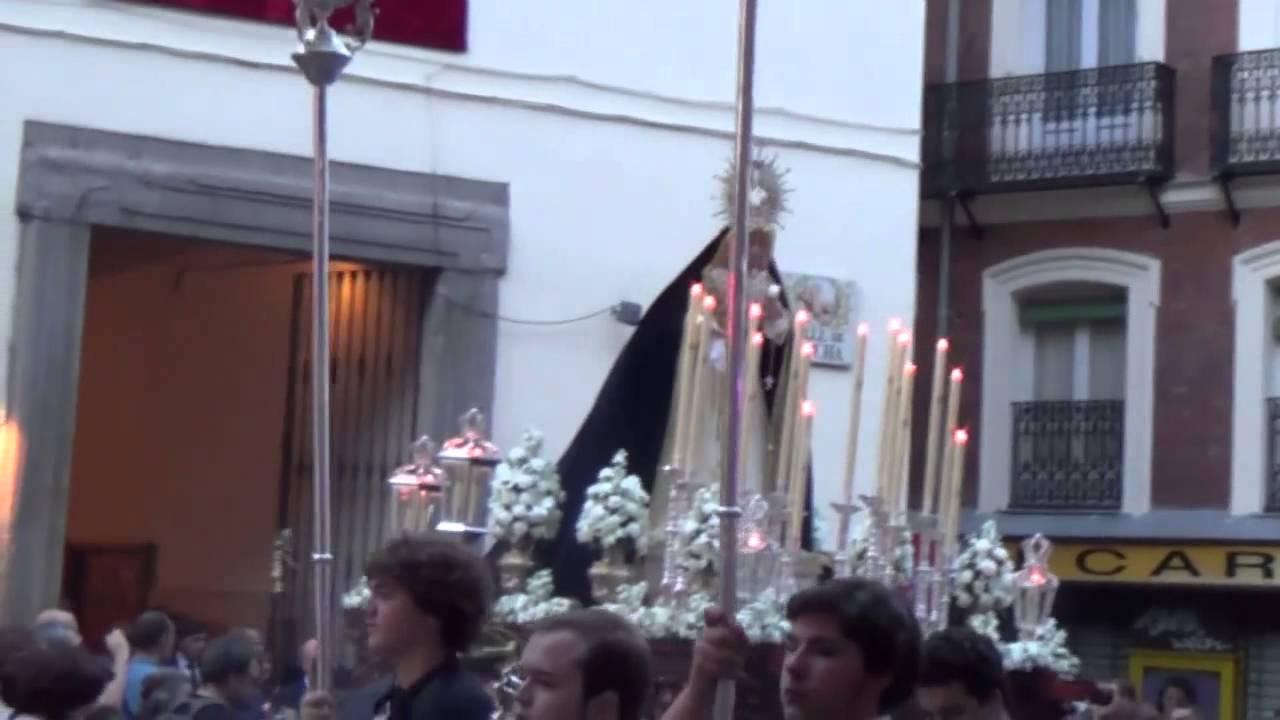 Resultado de imagen de María Santísima de los Desamparados de madrid