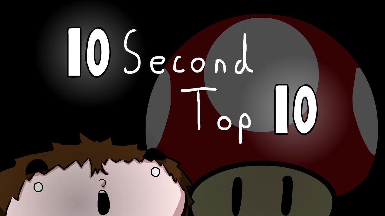 10 Second Top 10: Mario Power-Ups