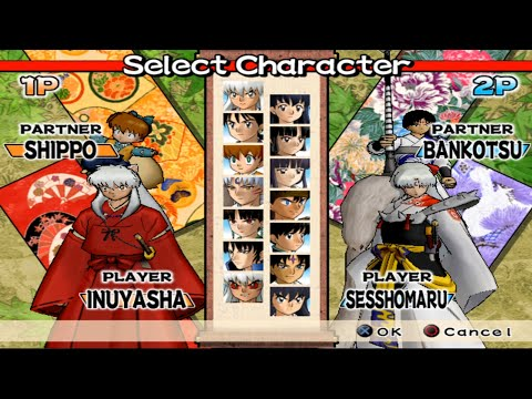 Inuyasha Feudal Combat Opening And All Characters PS2