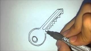 How to Draw a Key