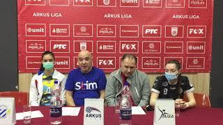 ARKUS liga 7. kolo / Beograd - Naisa / Izjave aktera meča nakon utakmice