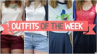 Outfits of the Week • Hot & Humid Summer in Shanghai