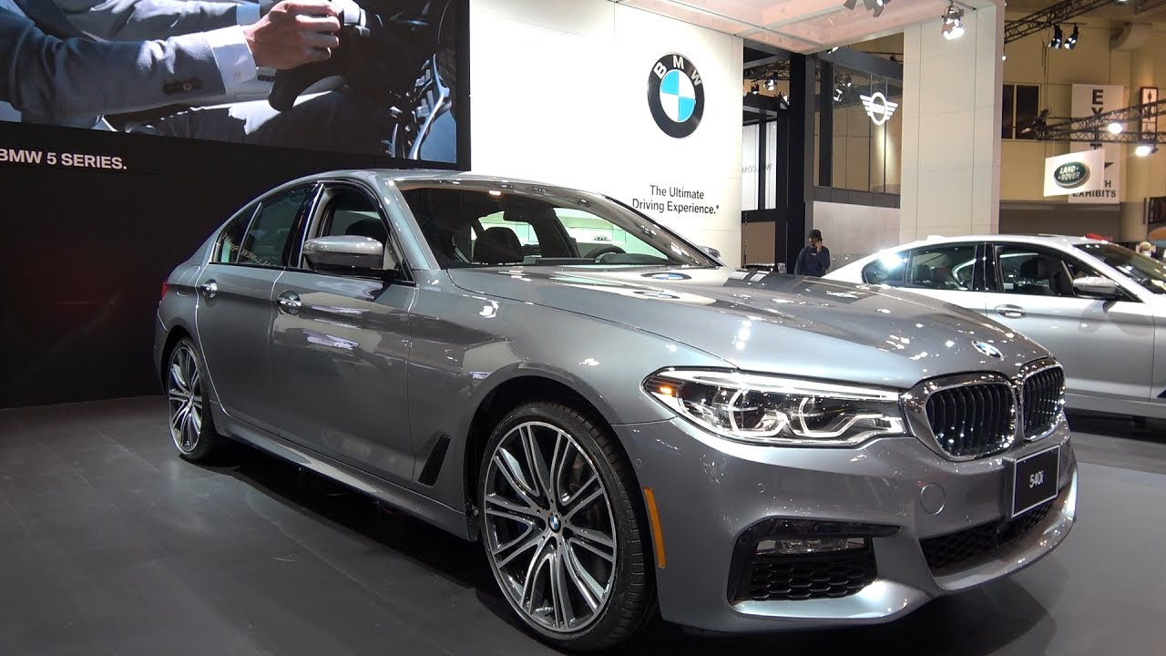 2017 Bmw 540i M Sport Xdrive At Toronto Motor Show Youtube