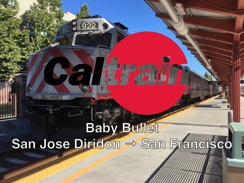 Caltrain Baby Bullet San Jose Diridon → San Francisco
