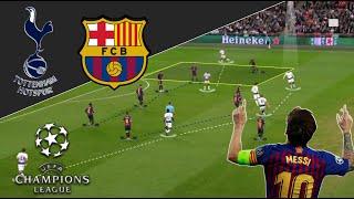 Messi Was Unplayable | Tottenham-Barca Tactical Analysis