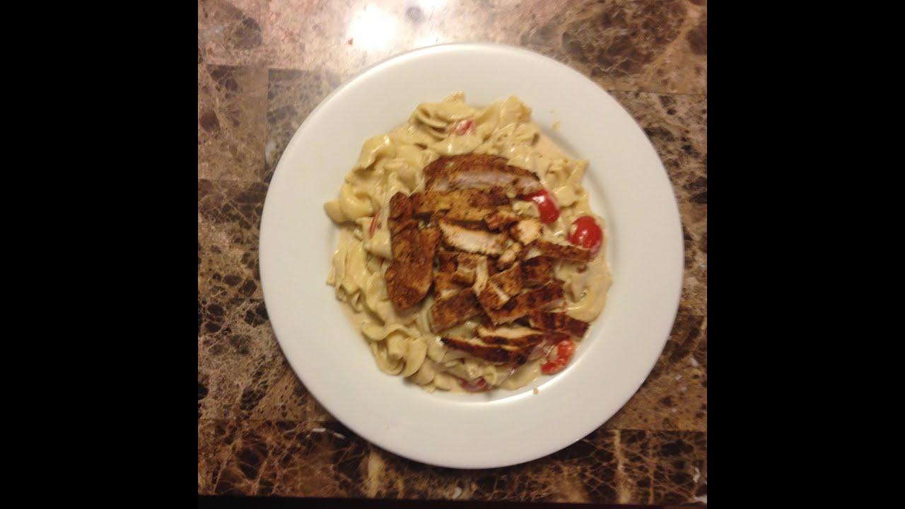 Cajun Chicken Alfredo Pasta - YouTube