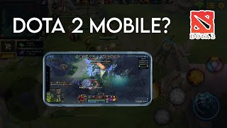 MOBILE MOBA THAT AŔE SIMILAR TO DOTA 2 PC - DOTA MOBILE VERSION