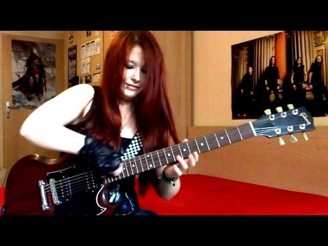 BULLET FOR MY VALENTINE - Your Betrayal [GUITAR COVER] by Jassie J