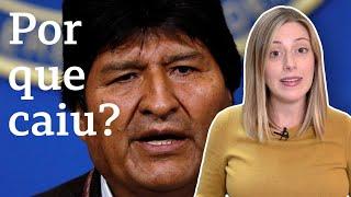 Renúncia de Evo Morales: Os fatores que levaram à queda do presidente da Bolívia