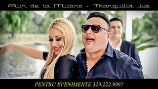 Alin de la Milano - Tranquilla LIVE