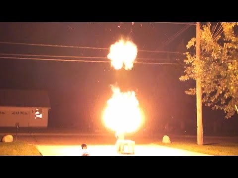 Massive HHO Gas Explosions On 4th of July 2015