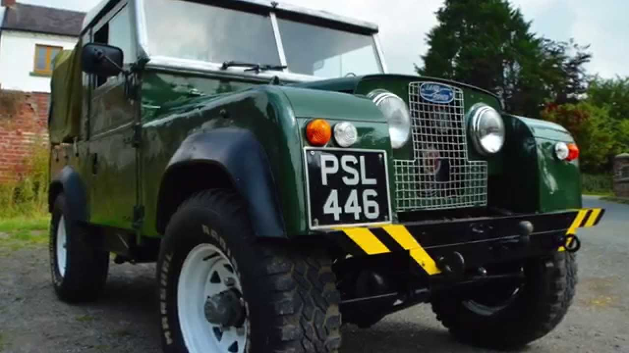 Land Rover series 1 V8 for sale with mikeedge7 - YouTube