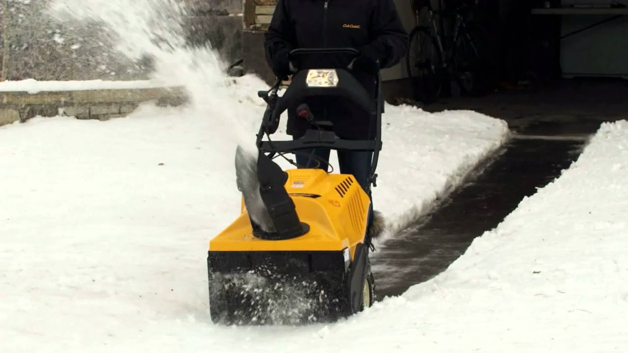 small resolution of cub cadet 1x single stage snow blower