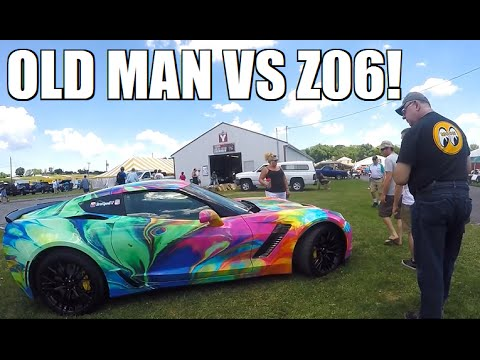 Old Man Says I SCREWED UP My Z06 at GM Nationals...