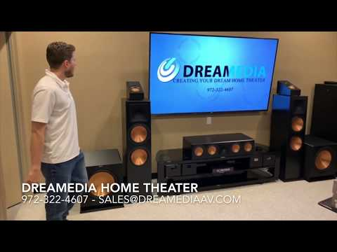 QUICK Review Klipsch RF-7 III / RC-64 III / RP-500SA / R-115SW / XBR85X900F with DEMO