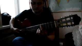 кубинский танец.очень красивая мелодия на гитаре.