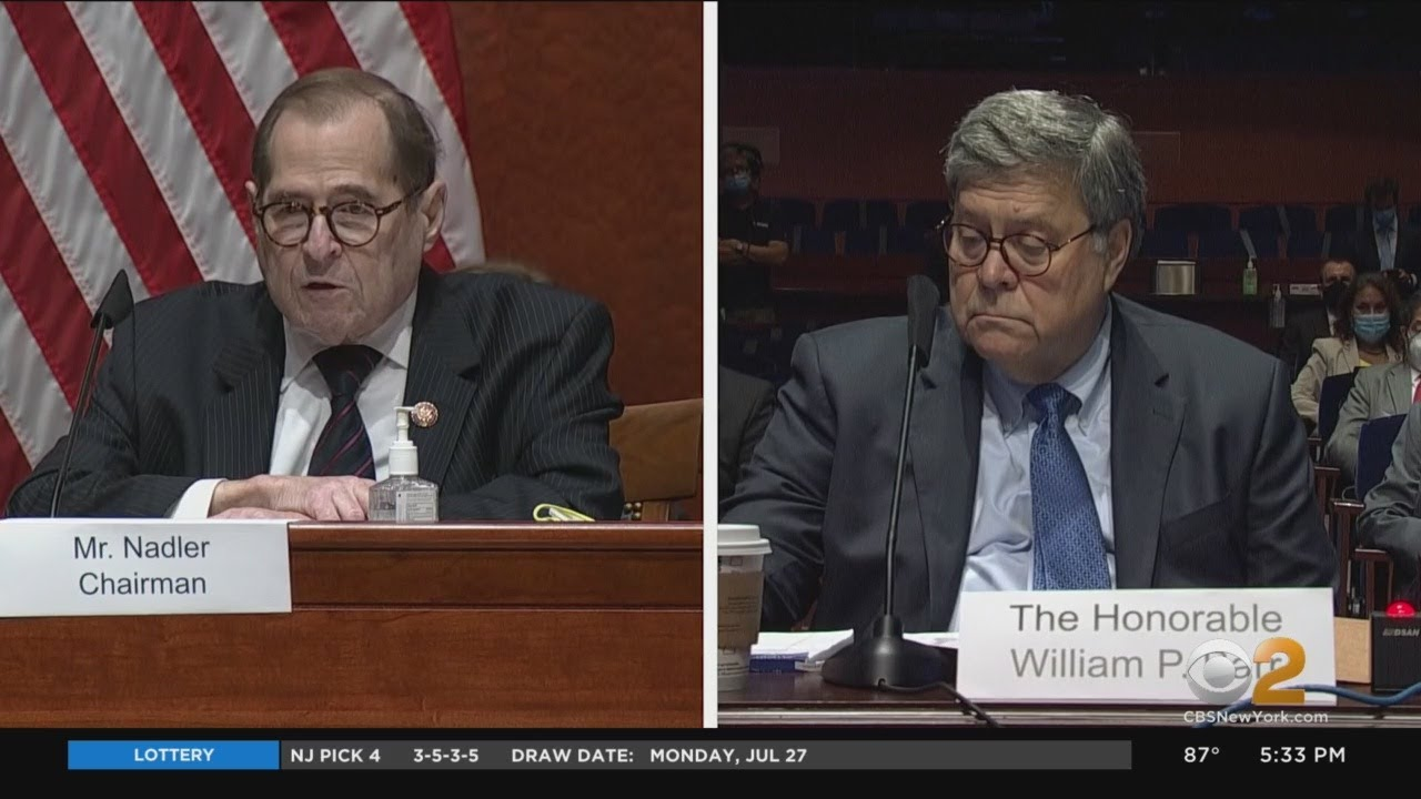 Download Rep. Jerry Nadler, AG William Barr Clash On Capitol Hill