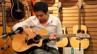 Walden Guitar G630CE by www.AcousticThai.Net
