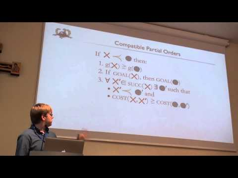 ICAPS 2013: David L. W. Hall - Faster Optimal Planning with Partial-Order Pruning