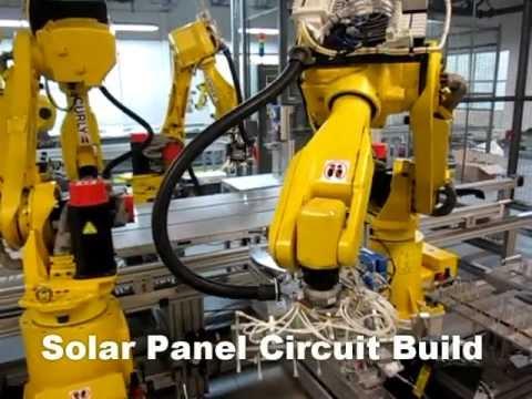 Solar Panel Build Automation