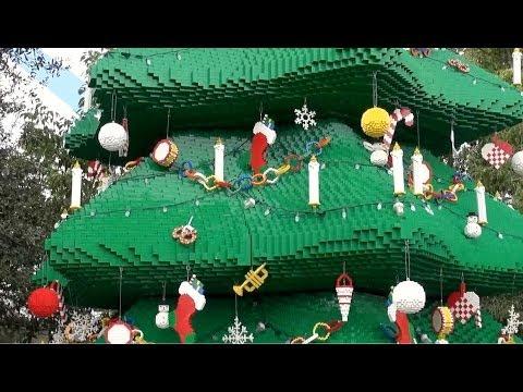 Legoland Florida 2013 Christmas Decorations - Winter Haven, Florida