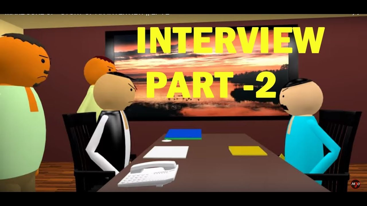 Kanpuriya Make Joke of - Interview Part 2 | Funny Kanpur cartoon video