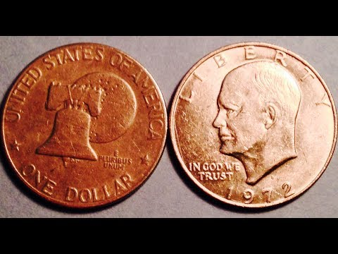 Mintages & Values Of Eisenhower (IKE) Dollar Coins (1971-1978)