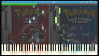 Pokemon R / S/E - Route 113 (Piano Arrangement) (Synthesia)