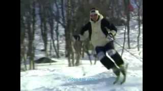 Урок№ 9 Видео как научиться кататься на горных лыжах