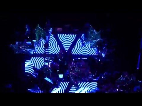 Krewella @ Get Wet Live Tour Debut (Austin, TX) Volcano Stage