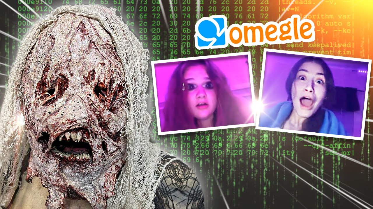Download Hacking Into OMEGLE Calls Prank (JUMPSCARE TROLLING ) Part#20