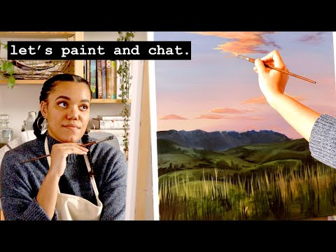 stay-home-with-me-·-real-time-paint-and-chat-·-1-hour-in-the-studio-·-#6