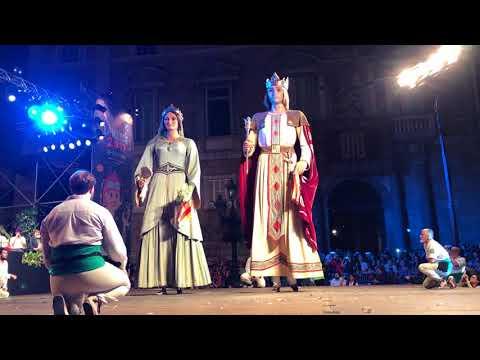 Ball dels gegants de la ciutat de Barcelona- Toc d'inici 2017