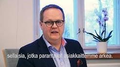 Helsingin Diakonissalaitoksen vuosikatsaus 2017