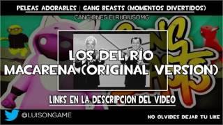 ElRubiusOMG Canciones ~ PELEAS ADORABLES | Gang Beasts (Momentos Divertidos)