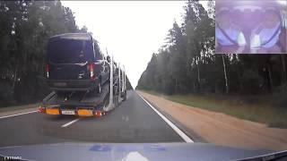Дорожная погоня ДПС за авто грузовиком со стрельбой (Бешеный грузовик)