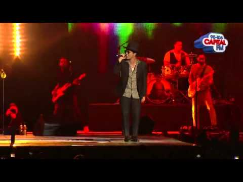 Bruno Mars - Locked Out Of Heaven - Capital Jingle Bell Ball 2012
