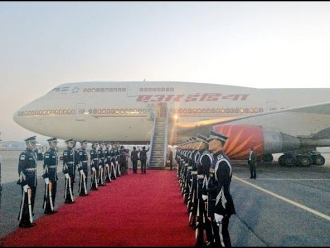 PM Modi departs for New Delhi after completing his three nation visit