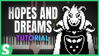 "How to play ""HOPES AND DREAMS"" from Undertale"