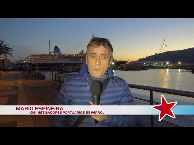 Mario Espiñeira, estibador de Ferrol #SOSestiba