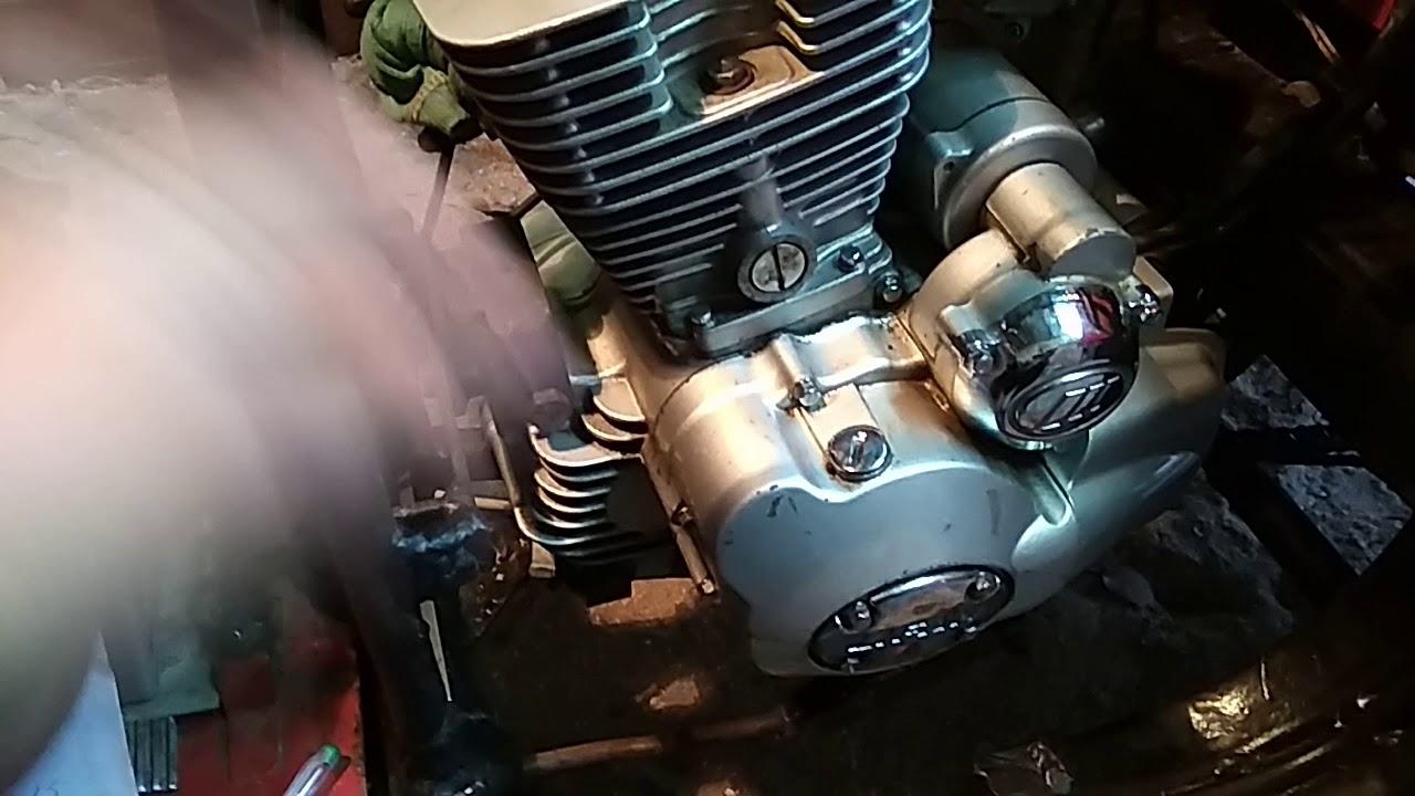 Китайский двигатель на мотороллер муравей ч-2