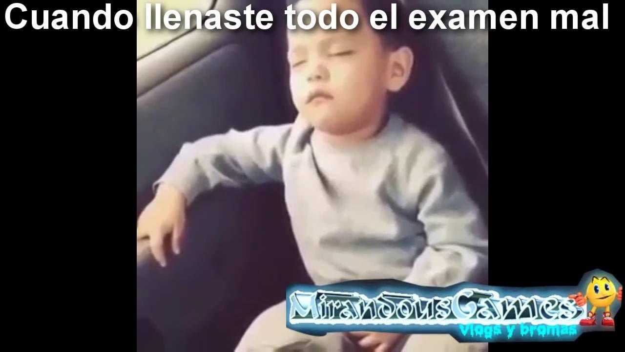 Meme Nino Dormido Se Despierta Bailando Mirandousgames Youtube