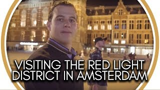 Visiting the Red Light District in Amsterdam