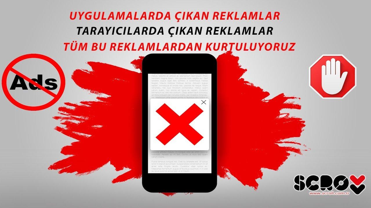 Telefonlarımızda Tüm Reklamlardan Kurtuluyoruz  #Smartphone #Android
